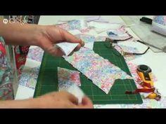 Patchwork Ao Vivo com a Tia Lili #10: bolsas de patchwork e bolsinha japonesa - YouTube