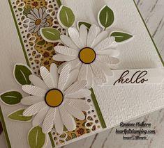Saying Hello to Ornate Garden - Heartfelt Stamping