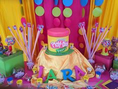 Play Doh Birthday Party Ideas | Photo 9 of 19 | Catch My Party