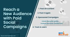 Reach a new audience with  paid social campaigns   #fromwhereistand #wahm #entrepreneur #smallbusiness #socialmedia #socialmediamarketing #network #networkmarketing #success #goals #beyourself #advertise #contentmarketing #Digitalmarketing #SEO #blogging #marketing #branding #marketingtips #marketingstrategy #startup #b2bmarketing