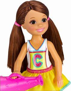 Barbie Chelsea Doll-Cheerleader out:2015!!!!!!!!!!!