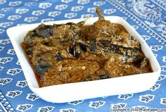 Baghare Baingan (Indian Eggplant Masala Recipe) - this site has a ton of great egg plant recipes.