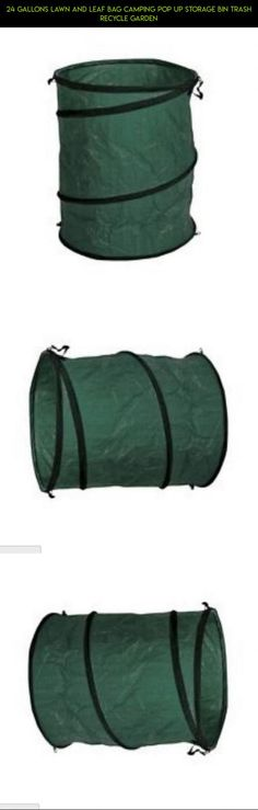 24 gallons Lawn and Leaf Bag Camping Pop Up Storage Bin Trash Recycle Garden #vacuum #bags #plans #products #tech #fpv #technology #gadgets #for #parts #racing #drone #camera #shopping #clothes #storage #kit