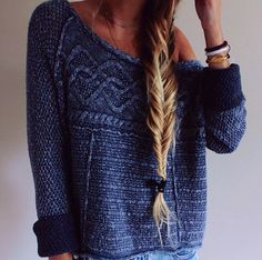The colour and details are stunning in this jumper.