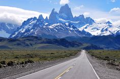 On the Road   by Alessandro Pinto  El Chalten, Argentina
