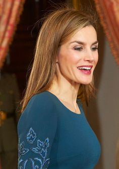 Queen Letizia attends the Pascua Militar (New Year's Military Parade), Royal Palace, Spain, January 6, 2015.