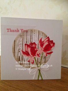 Jo-Jo's Crafty Blog: Lotus Blossom