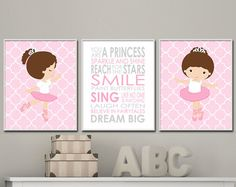 Kids room decor Girl quotes Baby room artwork She leaves a