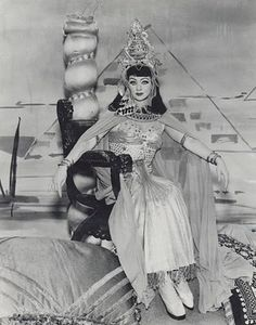 "Lucille Ball as Lucy Carmichael in ""Lucy Plays Cleopatra"" in ""The Lucy Show"" on May 29, 1963"