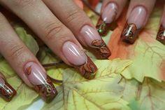 Autumn-Leaves by NailsInStyle - Nail Art Gallery nailartgallery.nailsmag.com by Nails Magazine www.nailsmag.com #nailart