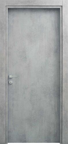 Lucie, la polvere di stelle si sparse sulla #sabbia #grigia e dalla loro unione nacque un effetto mozzafiato. #porta modello Lucie, codice 1P, colore #star dust effetto cemento. Nh Hotel, Industrial House, House Colors, My House, Concrete, Hotels, Texture, Architecture, Design