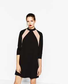 Image 2 of HIGH NECK DRESS from Zara