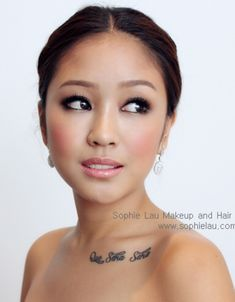 maybe a tad heavy on eyes for how much I cry but like it. Asian bride Makeup ♥…