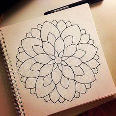 Doodle Art Drawing, Mandala Drawing, Mandala Painting, Mandala Doodle, Mandala Art Lesson, Doodle Art Designs, Sharpie Art, Art Drawings For Kids, Mandala Coloring Pages