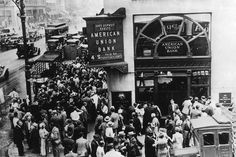 The Great Depression and Its Causes: Bank Failures