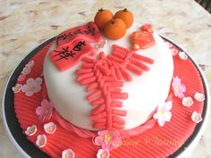Chinese New Year Cake Decoration