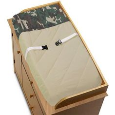 """$26.99-$23.99 Baby JoJo Designs Changing Pad Cover - Green Camo Army Military Camouflage - JoJo Designs Changing Pad Covers are especially created to coordinate with their nursery bedding sets to complete the look and feel of the bedroom theme for your child.  Our Changing Pad Covers fit all changing pads up to 17"""" x 31"""". http://www.amazon.com/dp/B0013T91ZM/?tag=pin2baby-20"""