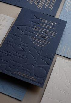 Letterpress Wedding Invitation Suite by The Letterist Poster Design, Print Design, Design Logo Inspiration, Invitation Design, Invitation Suite, Wedding Invitation, Invite, Business Invitation, Business Card Design