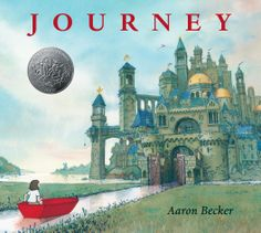 A lonely girl draws a magic door on her bedroom wall and through it escapes into a world where wonder, adventure, and danger abound. Red marker in hand, she creates a boat, a balloon, and a flying carpet that carry her on a spectacular journey toward an uncertain destiny. HC 9780763660536