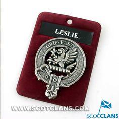 Leslie Clan Crest Ca