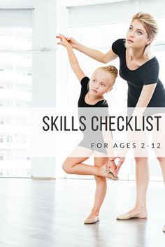 Is My Dancer Behind, or Ahead? - Miss Haley's Skills Checklist by Levels to age 12 - Beyond the Barre