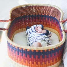 plum and sparrow handwoven basket