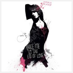 Manuel Rebollo - Dance Me To The End Wall Mural, $99, now featured on Fab.