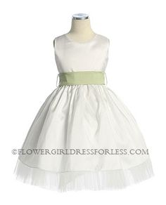 Flower Girl Dress Style 3073- BUILD YOUR OWN DRESS!