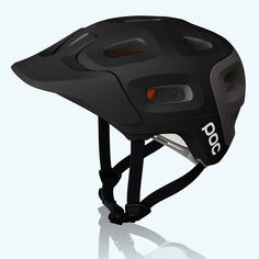 Ready for the trails, the POC Trabec Race bike helmet delivers resilient protection, ample airflow and stand-out style for your daily sessions and weekend races. Poc Helmets, Riding Helmets, Dual Sport, Best Mountain Bikes, Mountain Biking, Mountain Bike Helmets, Airsoft Helmet, Bicycle Workout, Sports Helmet