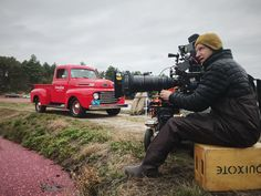 Long-lensing it on location with the Angenieux Lenses Optimo 24-290mm. #rbcgear #rulerentals