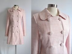 Nina Sayers Pink Coat in Black Swan (replica) by stylemadehere via Etsy