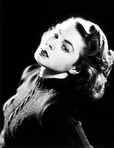 """Ingrid Bergman     """"I have no regrets. I wouldn't have lived my life the way I did if I was going to worry about what people were going to say."""""""