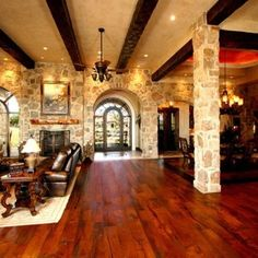 Eclectic Country Home Design,