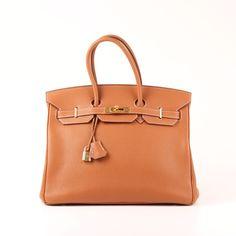 Hermès Birkin 35 Veau Togo Gold