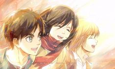 Anime Attack On Titan: Eren Yeager & Mikasa Ackerman & Armin Arlert as kids Armin, Eren X Mikasa, Attack On Titan Season, Attack On Titan Eren, Attack On Titan Fanart, 5 Anime, Fanarts Anime, Piskel Art, Aot Wallpaper