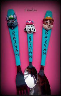Tacamuri Personalizate Paw Patrol Measuring Spoons, Paw Patrol, Mac, Poppy