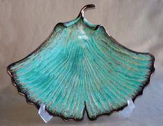Susan Anderson Ceramics - Ginkgo Leaf Plate