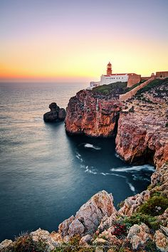 Sagres Lighthouse, Algarve, Portugal