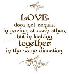 Love......  great engagement, wedding or anniversary verse