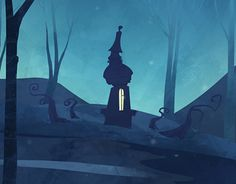 "Check out new work on my @Behance portfolio: ""Dark Forest"" http://be.net/gallery/49621977/Dark-Forest"