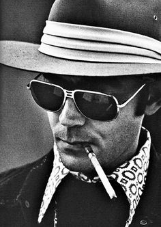 Come on...is anyone cooler than Hunter S. Thompson?