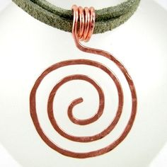 Zen Spiral Tutorial from Rena Klinginberg.  #Wire #Jewelry #Tutorial