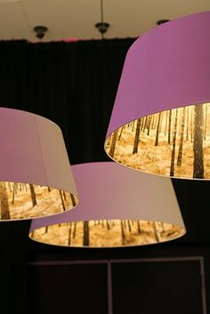 Light shades in Light Kitchen, Nordic Light Hotel Chair Fabric, Fabric Decor, Forest Light, Nordic Lights, Bar Lounge, Pendant Light Fixtures, Bar Lighting, Lampshades, Light Shades