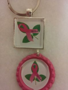 """This is one of my designs for 2014 Breast Cancer awareness.  A portion of each sale will go to breast cancer awareness.  The rose leaf symbolizes """"I give you hope""""."""