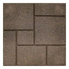 Envirotile Cobblestone 18 in. x 18 in. Earth Paver (70-Pack) MT5001182 at The Home Depot - Mobile