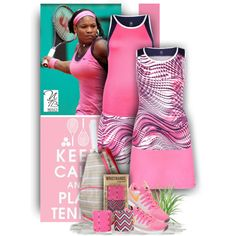 Plus size Tennisstyles - Nicole's Tennis Boutique by nicolestennisboutique on Polyvore featuring NIKE