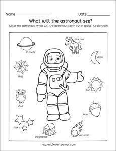 Najlepsze obrazy na tablicy Solar System Worksheets (16) w