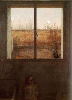 Antonio López García, THe window, 1966 - Spanish painter and sculptor Spanish Painters, Spanish Artists, Antonio Garcia, Jean Leon, Garcia Lopez, Nocturne, Window View, Figurative Art, Painting & Drawing