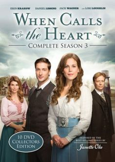 When Calls the Heart: Complete Season 3 Collections Edition DVD Set. Wonderful collection of 10 DVDs incorporating all the episodes of season 3 along with some amazing bonus extras you won't want to miss. See my complete review by clicking on the picture! #WhenCallsTheHeart