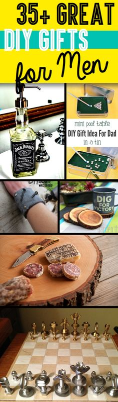 35+ Great DIY Gifts for Men Who Love To Be Surprised!